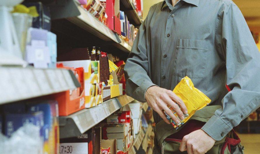 В Бугуруслане мужчина похитил продукты из магазина