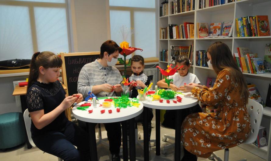 В Бугурусланском районе появилась библиотека нового поколения