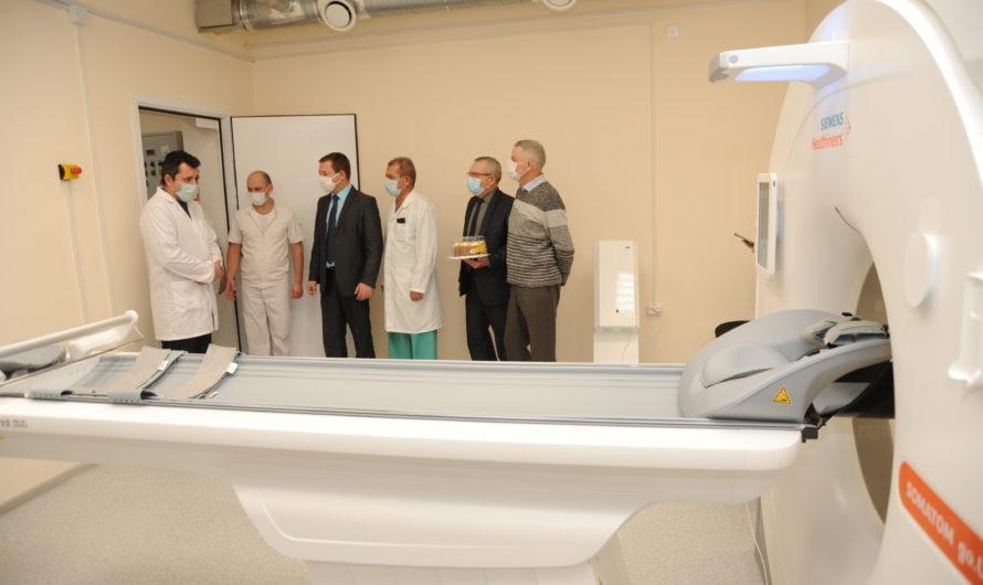 Бугурусланскую городскую больницу оснастили новым компьютерным томографом