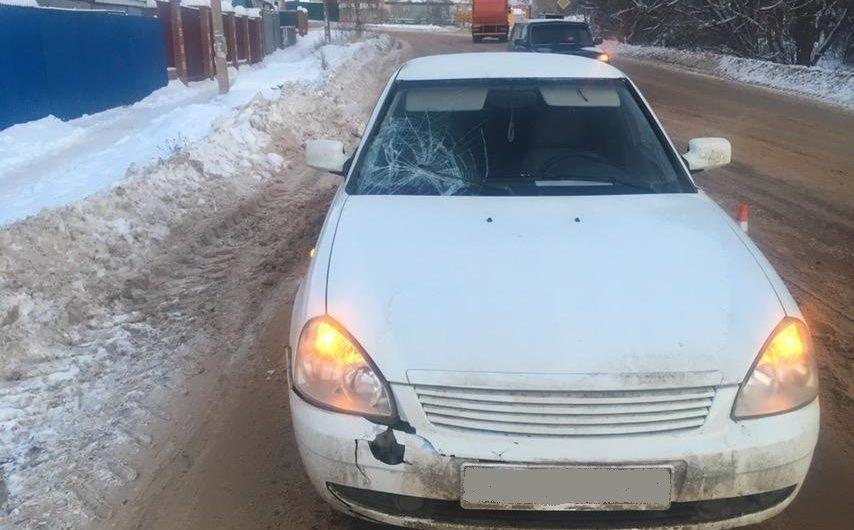 Жительница Бугуруслана попала под колёса «Лады»