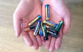 И куда девать батарейки?