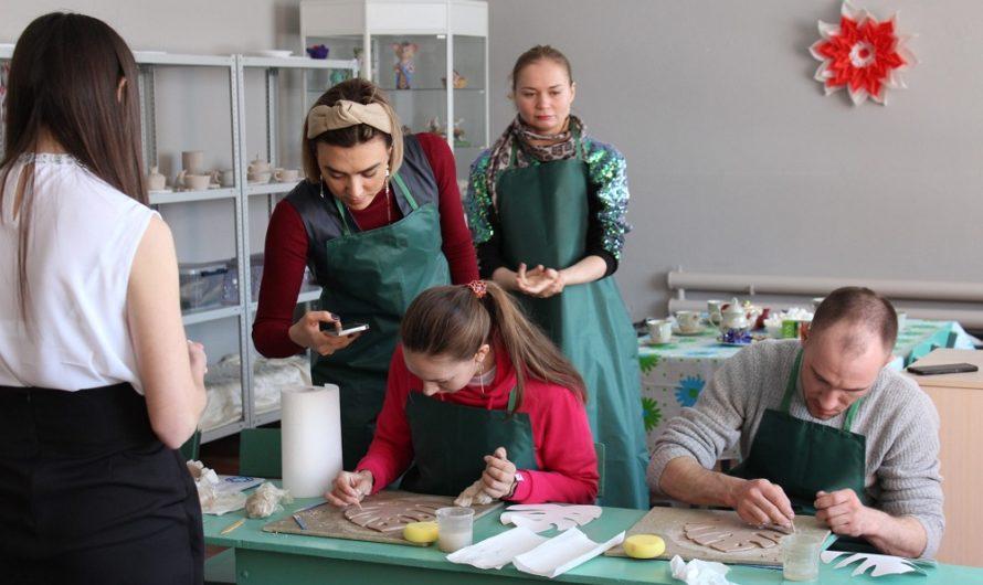В Бугуруслане открылась гончарная мастерская